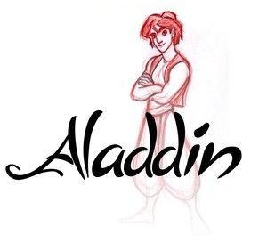 aladin jasmine gnie abou jafar radja